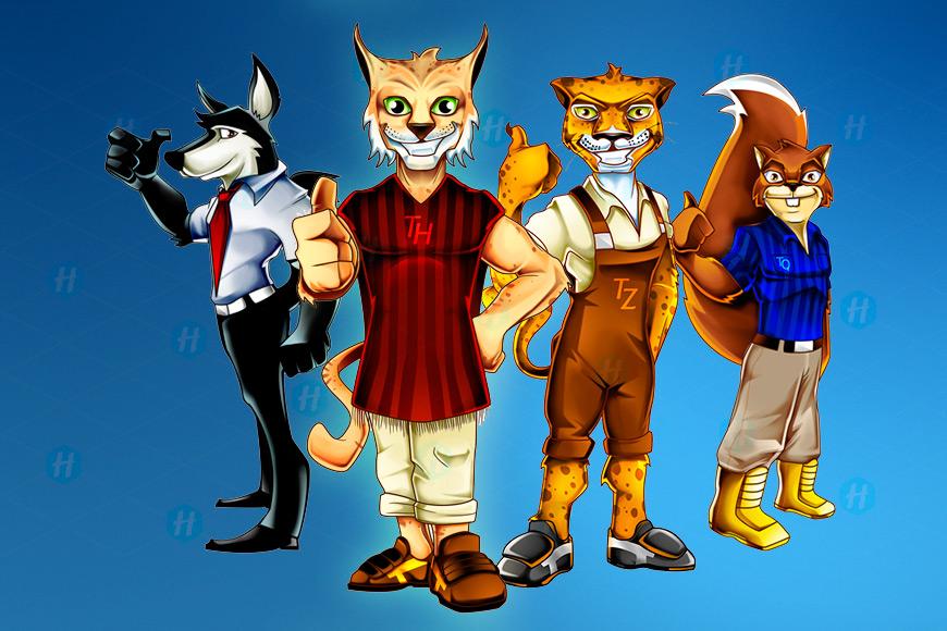 Itezo-University-cartoon-designs-by-HipMascots