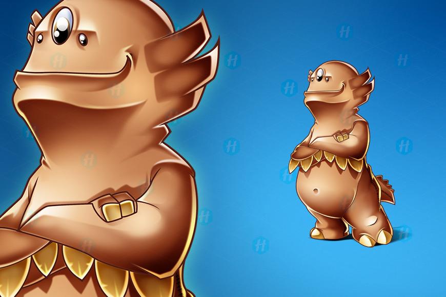 Faun-Game-Cartoon-Design-by-HipMascots