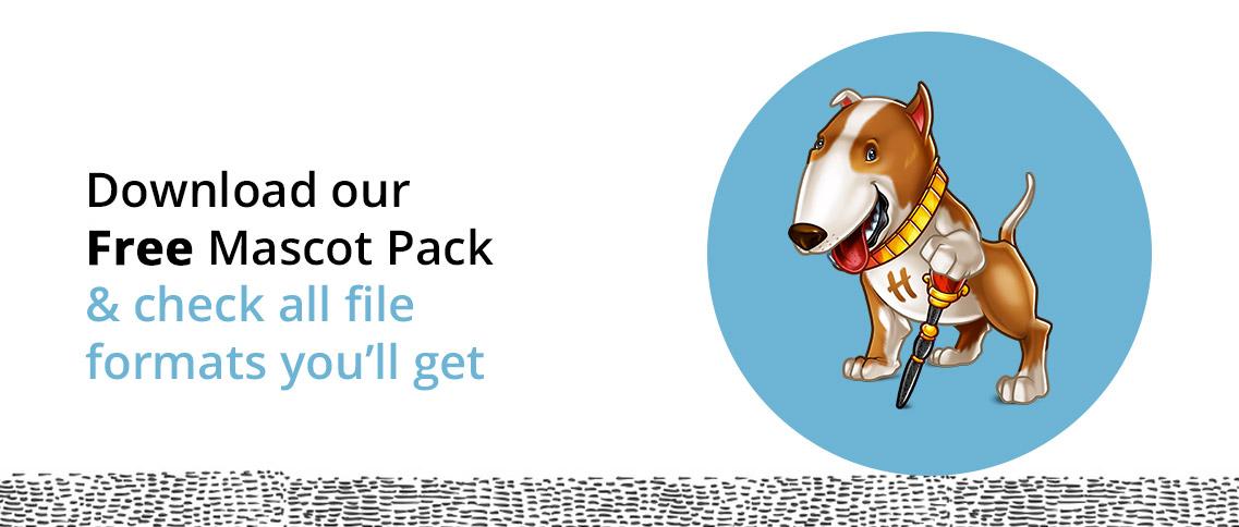 Free mascot design pack