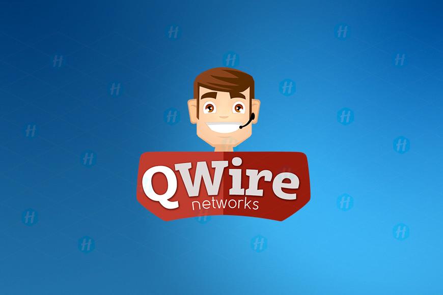 Q-Wire-Networks-Cartoon-Logo-Design-by-HipMascots