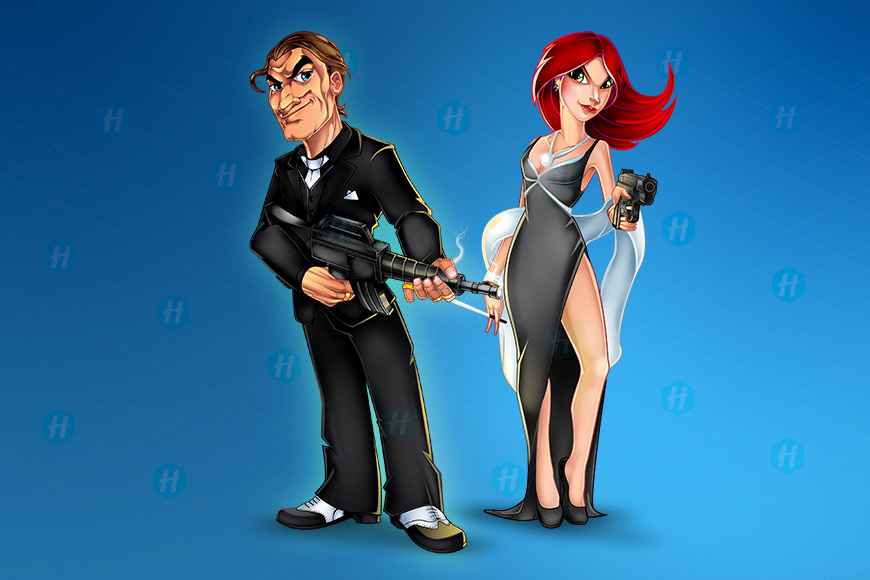World-Mafia-Cartoon-Character-designs-by-HipMascots