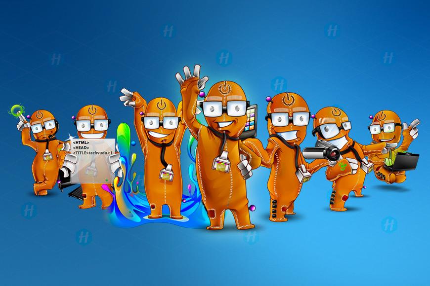 TechVudu-Cartoon-caricature-designs-by-HipMascots