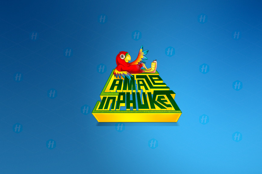 A-Maze-in-Phuket-Cartoon-Logo-Design-by-HipMascots