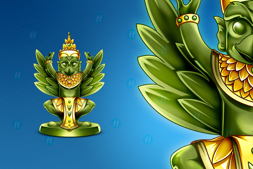 Kratom-Infusion-Garuda-Cartoon-Design-by-HipMascots