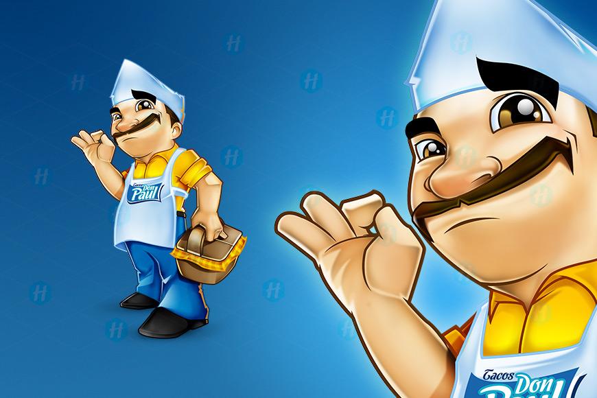 Mr-Paul-Tacos-Cartoon-Design-by-HipMascots