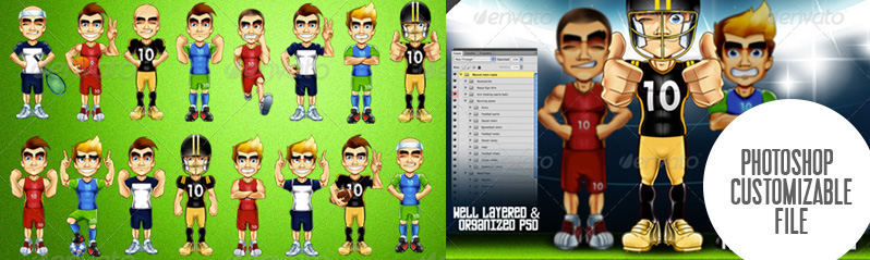 Stock-Mascots-editable-photoshop-files-by-HipMascots